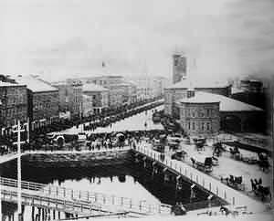 The Rhode Island Brigade Leaves Providence