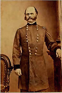 Major General Ambrose E. Burnside