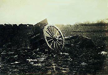 A Wrecked Limber & Dead Horse
