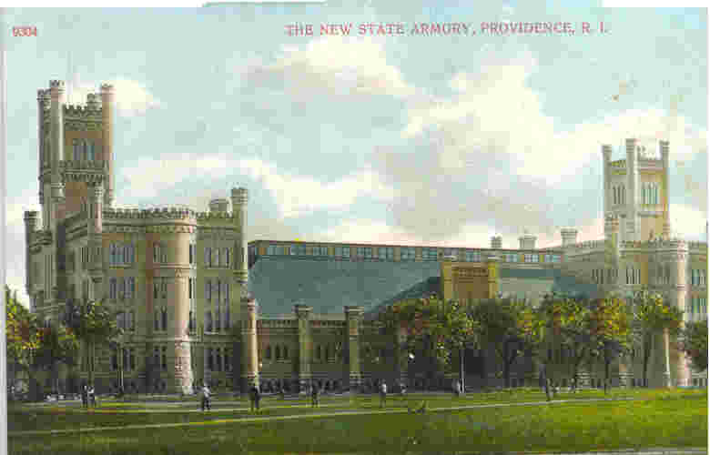 The Cranston Street Providence Armory