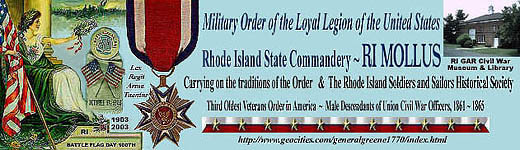 RI Military Order of the Loyal Legion of the United States