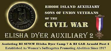 RI ASUVCW Elisha Dyer Auxiliary No 2