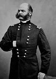 Rhode Island's Major General Ambrose E. Burnside